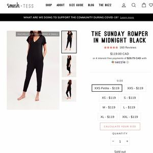 Smash and Tess Sunday Romper